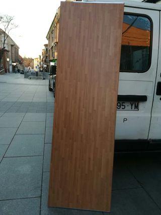 madera para cosina encimera
