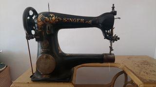 Máquina de coser Singer. Años 30