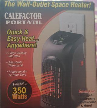 Calefactor Portátil Nuevo!!!!!!