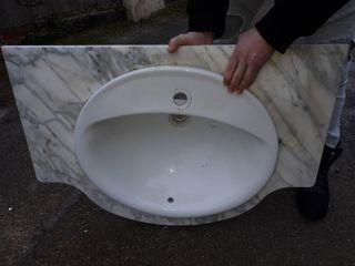 lavabo + marmol