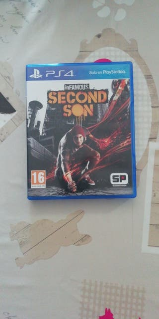 Infamous second son. ps4