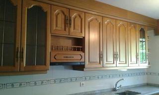 se vende cocina completa de madera de roble