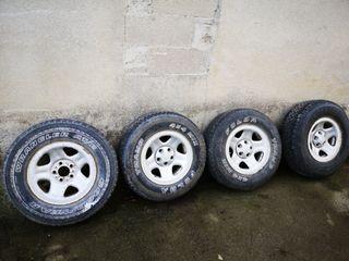 llantas y neumáticos jeep wrangler