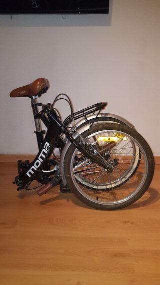 Bicicleta plegable MOMA negra