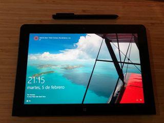 Tablet Windows con funda teclado y funda