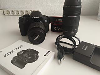 Cámara réflex Canon Eos 700D