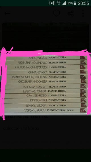 12 Libros. PLANETA TIERRA -Vintage-
