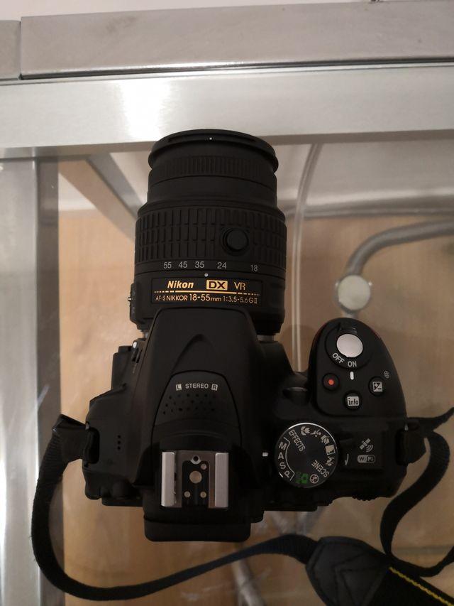 cámara fotos reflex