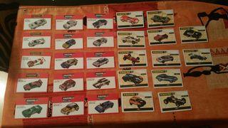 certificados de coches de scalextric