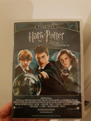 Harry Potter DVD 5 and 6