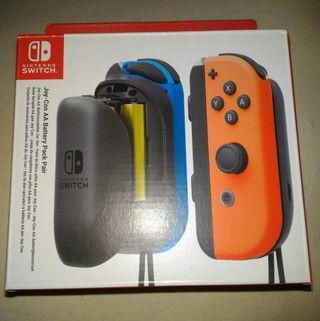 Nintendo Switch Cargador Pilas AA para Joy-Con NEW