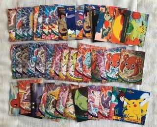 Lote 55 cartas Pokemon Topps - Con repetidas