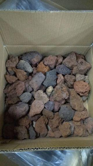barbacoa a gas piedra volvanica nuevas 600mm