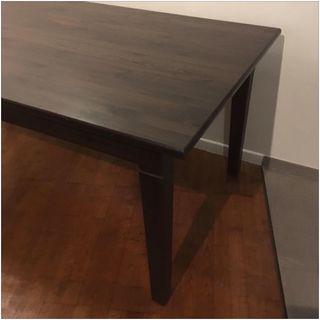 Lot Table Markor + 4 chaises Ikea