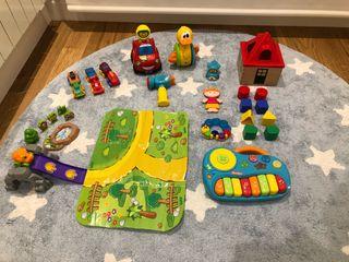 Pack juguetes menores 3 años y bebes