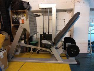 Prensa de placas Gervasport para gimnasio