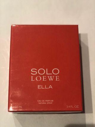 Vendo perfume SOLO ella de LOEWE 100ml+envio