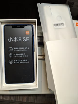 Xiaomi MI 8 SE 4gb RAM + 64gb Memoria NUEVO