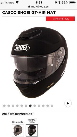 Shoei GT-AIR Negro mate talla M