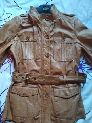 Cazadora chaqueta piel
