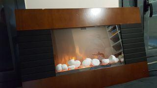 Estufa falsa chimenea