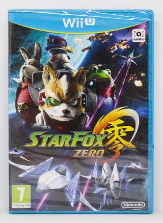 StarFox Zero Nintendo Wii U PAL España nuevo