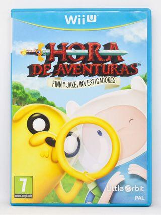 Hora de Aventuras Investigadores WiiU PAL ESP