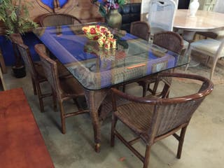 -Mesa + 6 sillas