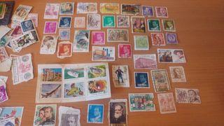 Lote de sellos varios