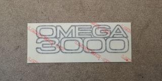 571. Emblema antracita opel omega a 3000 12v 24v