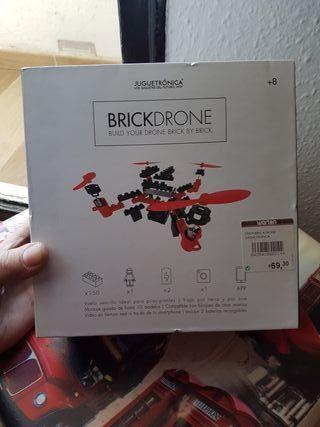 Dron Lego con camara precintado