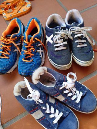 lote zapatillas talla 31