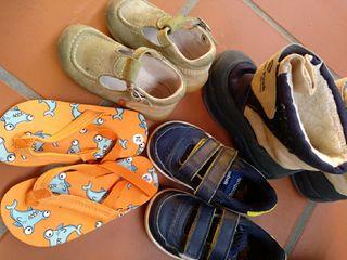 lote zapatos talla 22