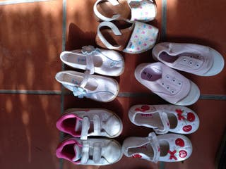lote zapatillas talla 26