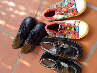 lote zapatos talla 25-26