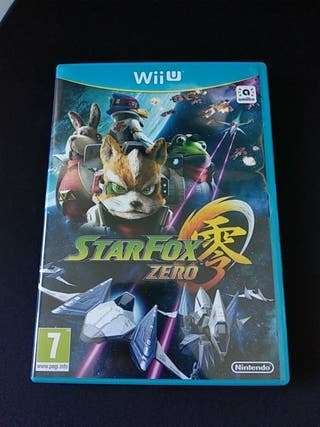 Starfox Zero - WiiU