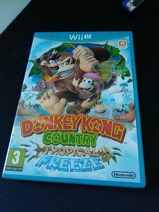 Donkey Kong Tropical Freeze - WiiU
