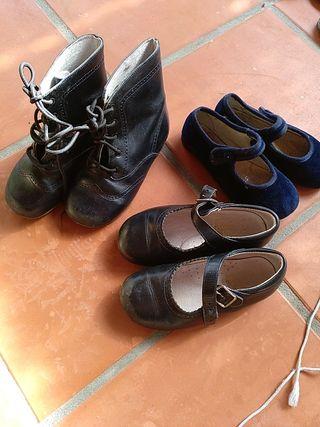 lote talla 26 zapatos y botas