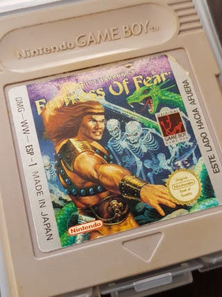 FORTRESS OF FEAR GAME BOY