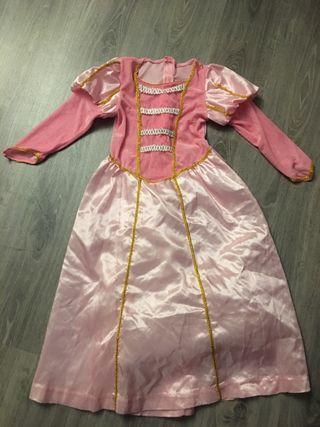 Disfraz de la princesa Aurora Talla 6-7 - 120cm
