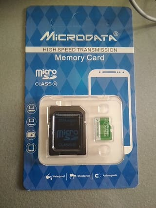 Tarjeta memoria micro sd 32gb clase 10 nueva