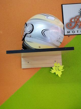casco moto abierto
