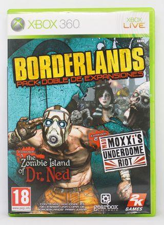 Borderlands Pack Doble de Expansiones XBOX 360 PAL