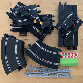 Scalextric Le Mans y pistas extra