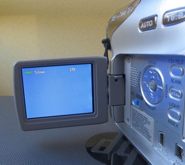 Cámara video para arreglo o piezas mini dv JVC