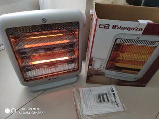 estufa de cuarzo radiador eléctrico orbegozo