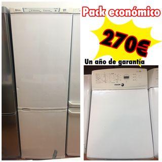 Combi Balay no Frost + lavadora fagor 6 kilos