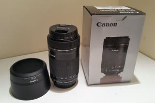 Objetivo Canon EFS 55-250 f4-5,6 IS STM