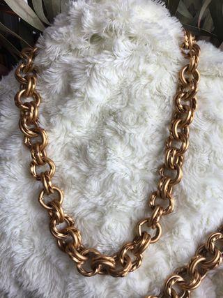Collar + pulsera bisutería MONET alta calidad
