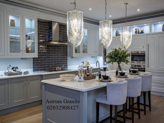 Buy Bianco Eclipse Granite Kitchen Worktop London